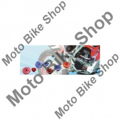 MBS SCHRAUBENSET MOTORGEHAUSE KXF250/11-15=KXF450/09-15, rot, 15/316, Cod Produs: DF891230AU - Piulita ghidon Moto