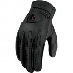 MXE Manusi moto piele, Icon 1000 Rimfire, negru Cod Produs: 33011614PE