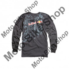 MBS FOX LANGARMSHIRT RED BULL X-FIGHTERS DOUBLE X, charcoal, M, 15/170, Cod Produs: 49096028004AU