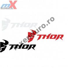 MXE Sticker Thor Die Cut culoare alba Cod Produs: 43201523PE - Stikere Moto