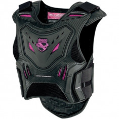 MXE Vesta protectie dame Icon Stryker, negru/roz Cod Produs: 27010513PE - Protectii moto