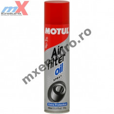MXE Motul spray de uns filtru aer Cod Produs: 102986 - Produs intretinere moto