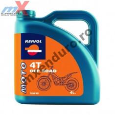 MXE Ulei Repsol Off Road 4T 10W40 4L Cod Produs: 002984 - Ulei motor Moto