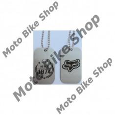 MBS Lantisor Fox Dog Tag, Cod Produs: PROMO94AU