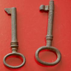 Lot 2 bucati - Cheie pentru usa model vechi !!! - Metal/Fonta