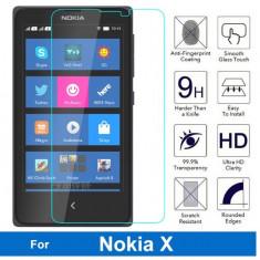 Folie protectie din sticla securizata pt NOKIA X 9H 0.3mm 2.5D glass