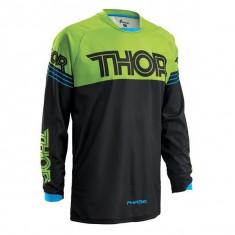 MXE Tricou motocross copii Thor Phase Hyperion, negru/verde Cod Produs: 29121362PE - Imbracaminte moto