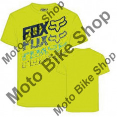 MBS Fox Kinder T-Shirt Hunger, Flo Yellow, Kl, P:16/040, Cod Produs: 16343130LAU