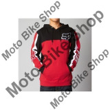 MBS FOX HOODY ZONE, red, XL, 15/183, Cod Produs: 09339003XLAU - Hanorac barbati