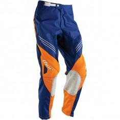 MXE Pantaloni motocross copii Thor Phase Hyperion, navy/portocaliu Cod Produs: 29031305PE - Imbracaminte moto