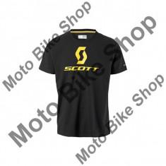 MBS SCOTT T-SHIRT PROMO BLACK, schwarz, L, 15/058, Cod Produs: 2389070001LAU - Tricou barbati, Maneca scurta