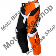 MBS Pantaloni motocross Ufo Cluster, portocaliu/negru, 52, Cod Produs: PI04388F52 - Imbracaminte moto