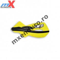 MXE Protectii maini Ufo Patrol galben/negru Cod Produs: UF1642102AU - Protectii moto