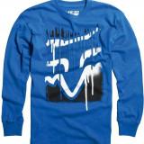 MXE Tricou cu maneca lunga copii Fox, Flexfit Disaster Tap, albastru Cod Produs: 07204002LAU - Bluza barbati