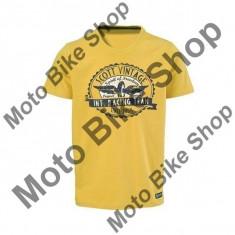 MBS SCOTT T-SHIRT VIN SPIRIT, gold gelb, L, 15/058, Cod Produs: 2251883624LAU - Tricou barbati, Maneca scurta