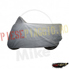 Prelata moto de interior gri 203x89x119 cm (marime M) PP Cod Produs: 7115611MA - Husa moto