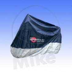 Prelata moto impermeabila 215 x 150 (albastru+argintiu) PP Cod Produs: 7115520MA
