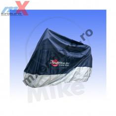 MXE Prelata moto impermeabila 275x108x104, albastru/argintiu, 500cc-1000cc Cod Produs: 7115512MA - Husa moto
