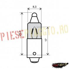 Bec alb semnalizare 12V23W 180gr PP Cod Produs: 246510025RM - Instalatie Moto