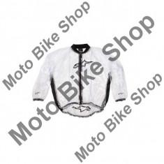 MBS Geaca de ploaie Alpinestars Clear, transparent, M, Cod Produs: 37050700MAU - Imbracaminte moto