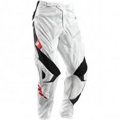 MXE Pantaloni motocross copii Thor Phase Vented Doppler, alb/negru Cod Produs: 29031359PE - Imbracaminte moto