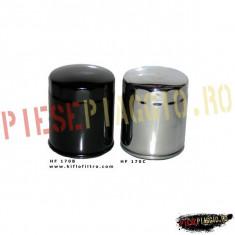 Filtru Ulei Harley, negru, Cod OEM 63805-80T PP Cod Produs: HF170B - Filtru ulei Moto