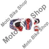 MBS FOX HELM V2 RACE, white-red-blue, M=57-58cm, Cod Produs: 09407574MAU