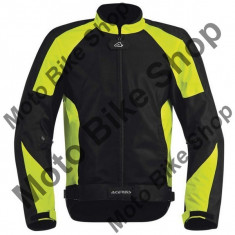 MBS Geaca Textila Acerbis Ramsey My Vented, negru/galben Flourescent, M, Cod Produs: 17105318MAU - Imbracaminte moto, Geci