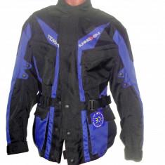 MXE Geaca ATV/Enduro cu cprotectii, culoare negru/albastru Cod Produs: MX5001 - Imbracaminte moto