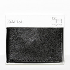 Portofel CALVIN KLEIN - Portofele Barbati - Piele Naturala - 100% AUTENTIC - Portofel Barbati Calvin Klein, Negru