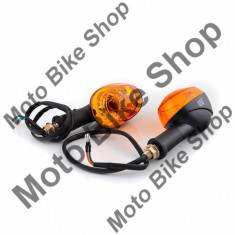 Set lampi semnalizare negru WST PP Cod Produs: WS031130 - Semnalizatoare Moto