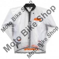 MBS Geaca de ploaie transparenta KTM, L, Cod Produs: 3PW1421704KT - Imbracaminte moto