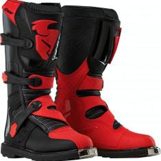 MXE Cizme motocross copii Thor Blitz, negru/rosu Cod Produs: 34110333PE