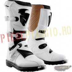 Cizme motocross Thor S4 Blitz, culoare albe PP Cod Produs: 3410105