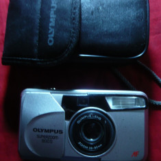 Aparat Foto cu film- Olympus Superzoom 800S -Ultracompact zoom, etui original