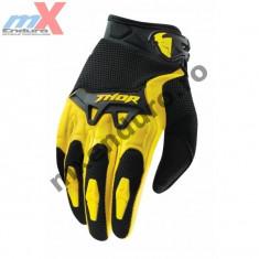 MXE Manusi motocross copii Thor Spectrum, culoare galben Cod Produs: 3332-0923