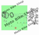 MBS Set motor Piaggio/Gilera scuter LC D.40 (4 colturi), Cod Produs: 833598PI