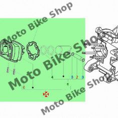 MBS Set motor Piaggio/Gilera scuter LC D.40 (4 colturi), Cod Produs: 833598PI - Motor complet Moto