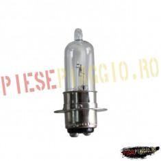 Bec far halogen 12V25/25W P15D PP Cod Produs: 1202646 - Instalatie Moto