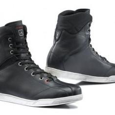 MXE Ghete TCX X-Rap WP culoare negru/verde Cod Produs: XS9538W - Ghete Moto