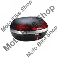 MBS GIVI TOPCASE MONOKEY V46, schwarz/schwarz matt, 46 Liter, Cod Produs: V46NAU - Coburi - genti laterale Moto