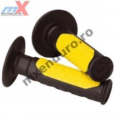 MXE Mansoane cross/enduro Scott, culoare negru/galben Cod Produs: 2057910005 - Mansoane Moto