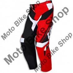 MBS Pantaloni motocross Ufo Cluster, rosu/negru, 52, Cod Produs: PI04388B52 - Imbracaminte moto