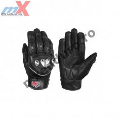 MXE Manusi moto piele Motolux culoare negru Cod Produs: ML3704