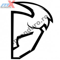 MXE Abtibild Thor S4 Die Cut culoare alba Cod Produs: 43201520PE - Stikere Moto