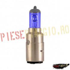 Bec far halogen albastru 12V35/35W BA20D PP Cod Produs: 1202642 - Instalatie Moto