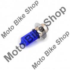 Bec far halogen albastru PX15D 12V 35/35W PP Cod Produs: MBS060207 - Instalatie Moto