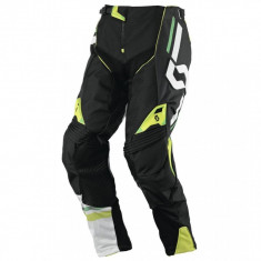 MXE Pantaloni motocross Scott Track, negru/verde Cod Produs: 2375621043323 - Imbracaminte moto