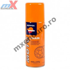 MXE Spray de uns lant Repsol Moto Chain 400 ml Cod Produs: 023644 - Sprayuri lant - pana Moto