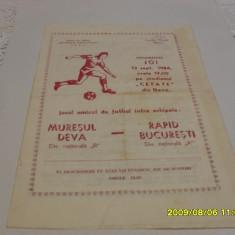 Program Muresul Deva - Rapid - Program meci